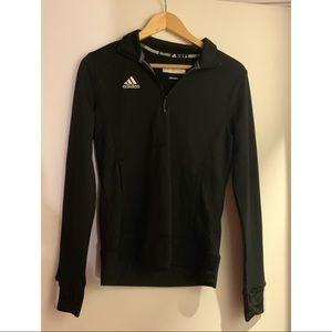 Black adidas quarter zip jacket
